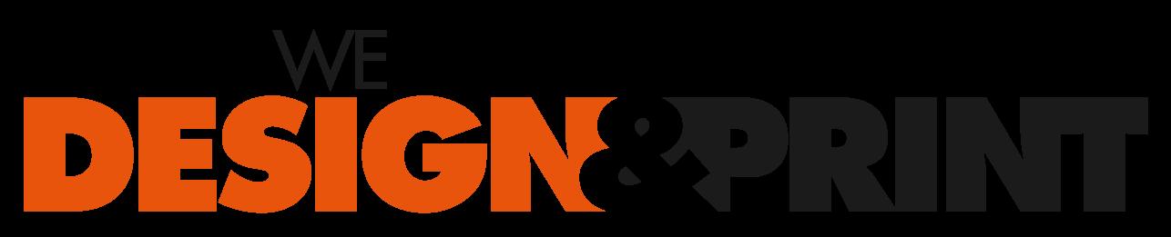 We Design and Print logo